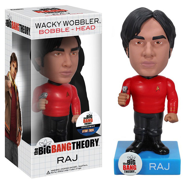 The Big Bang Theory Raving Toy Maniac