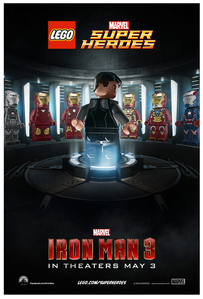 lego iron man
