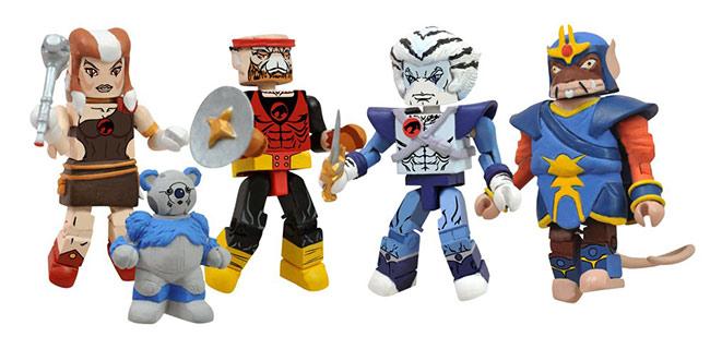 Action- & Spielfiguren Star Trek Kapitän Sisko Weste und Gul Dukat Minimates Figur Set Diamond 2013