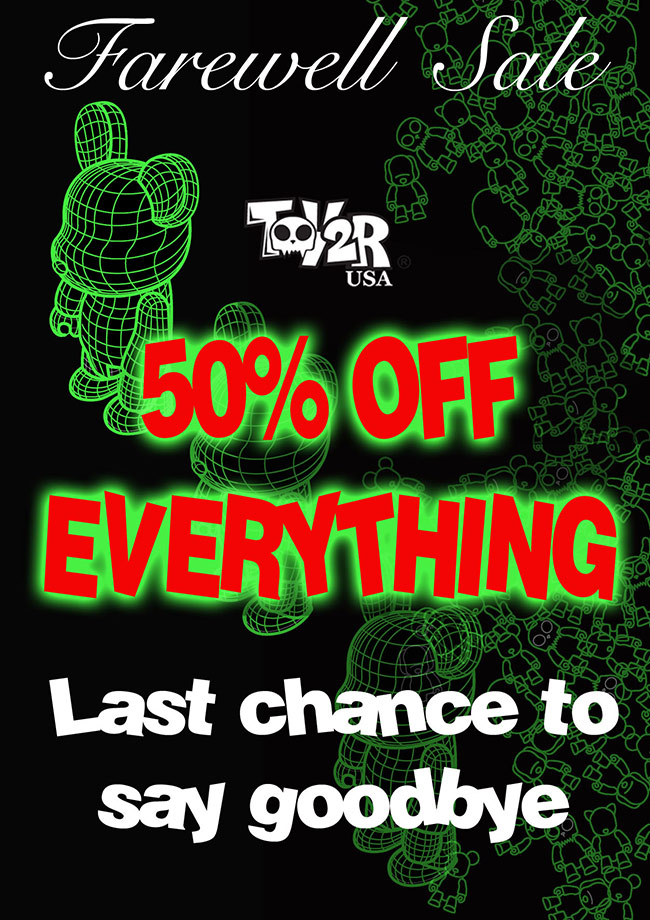 Toy2R USA Store Final Farewell Sale