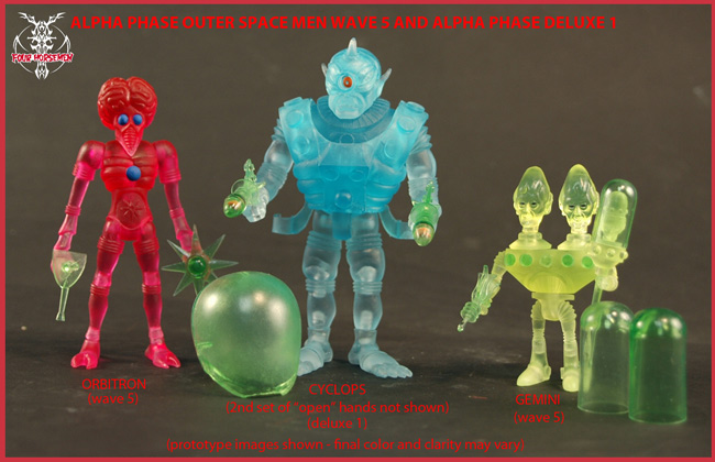 May 2012 Outer Space Men Pre-Orders