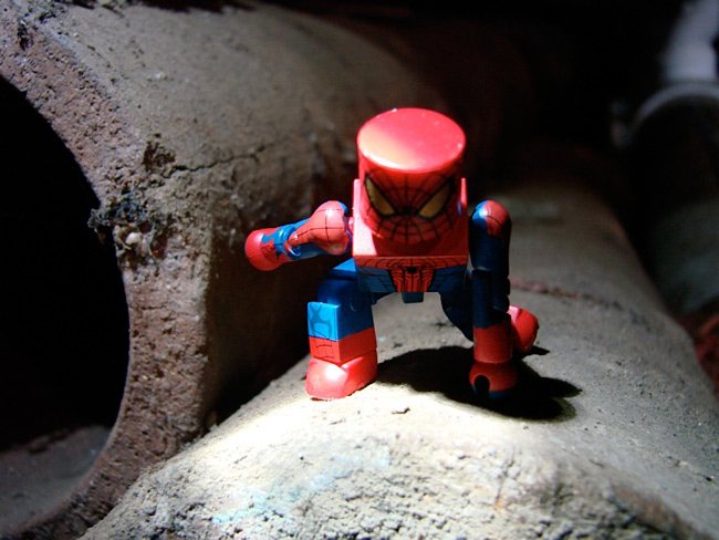 Marvel Minimates from the Amazing Spider-Man Movie