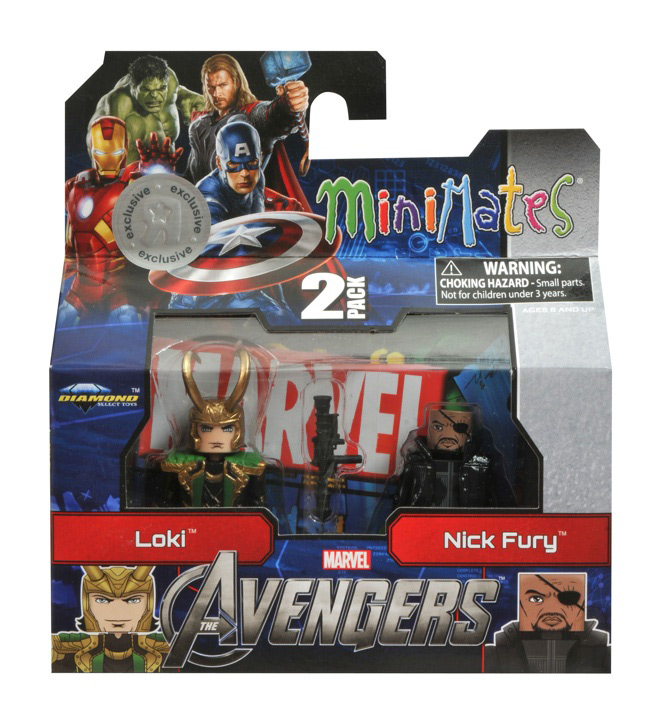 Marvel Minimates from the Avengers Movie