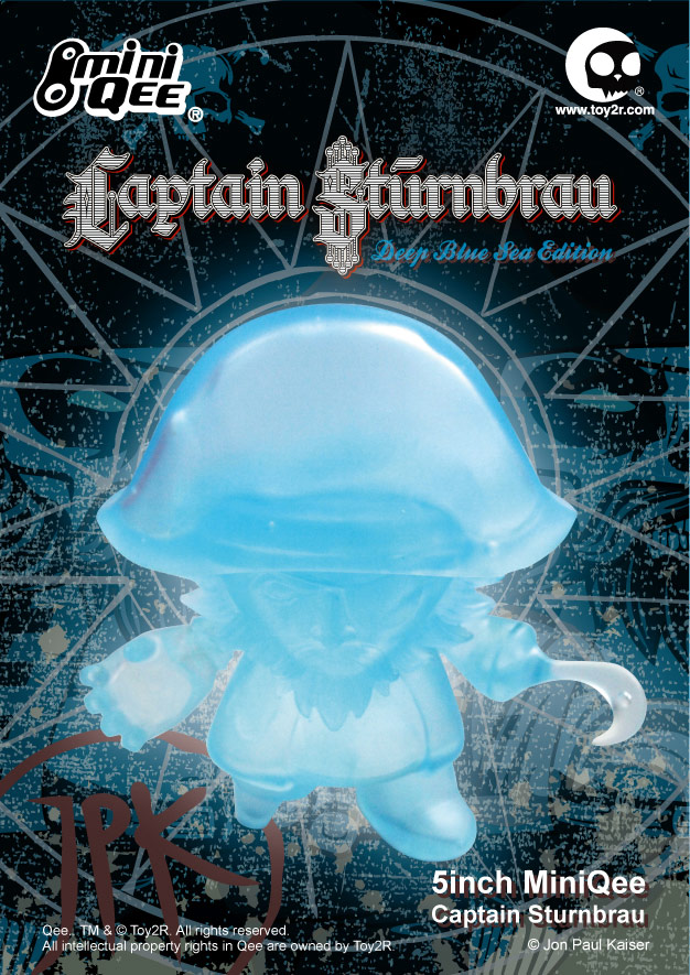 Jon-Paul Kaiser&#039;s 5 Inch Captain Sturnbrau Deep Blue Sea Edition Release