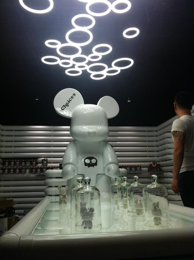 Qee X Choicee Arty Shop in Taipei