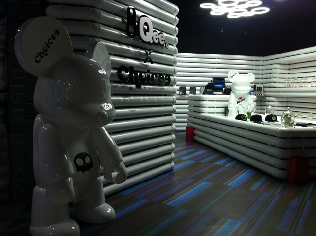 Qee X Choicee Arty Shop in Taipei