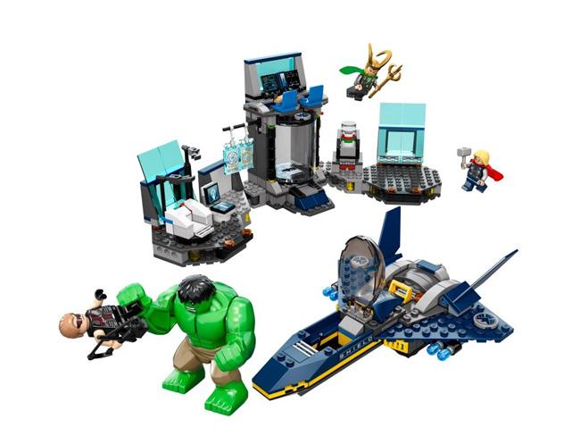 avengers LEGO toys