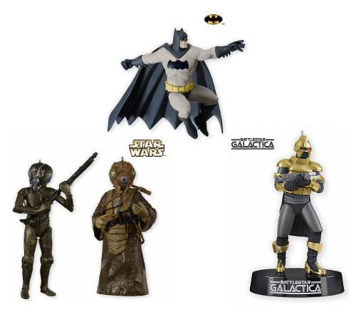 Hallmark's SDCC-Exclusive Ornaments