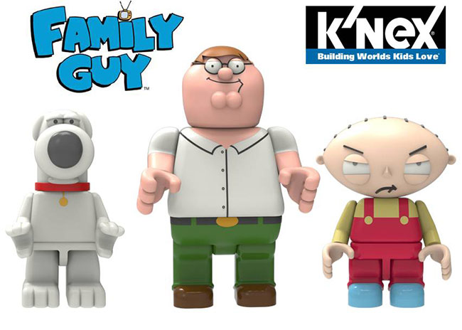 Family Guy Peters Toy Design : K nex announces family guy sets raving toy maniac