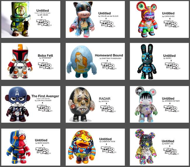 custom Qee figures