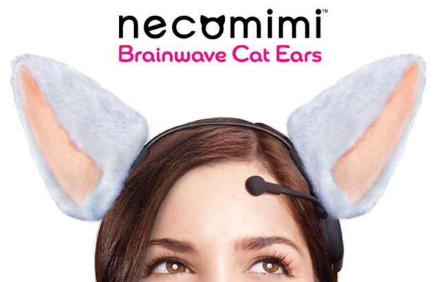 Necomimi Brainwave Cosplay Cat Ears