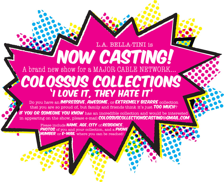 Now Casting for Colossus Collections