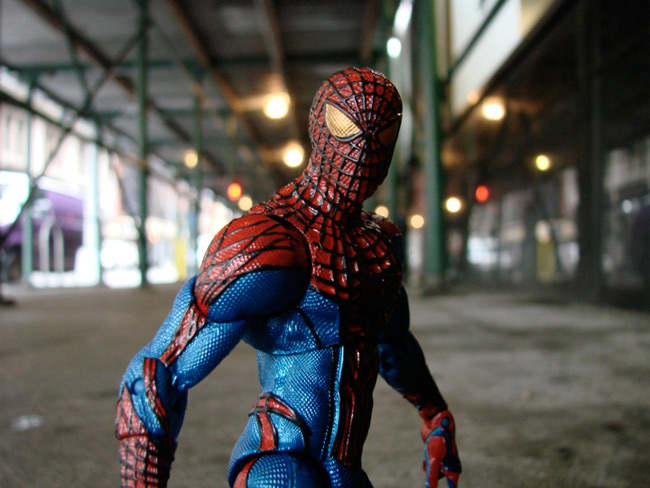 Disney Store Exclusive Marvel Select Amazing Spider-Man Figures