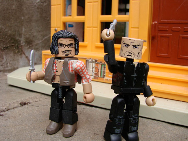 The Expendables Minimates