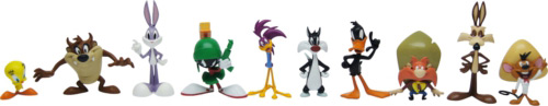 looney tunes action figures