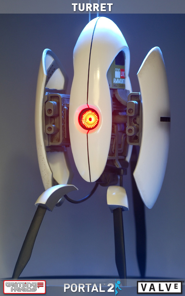 Portal 2 Turret Statue by Gaming Heads