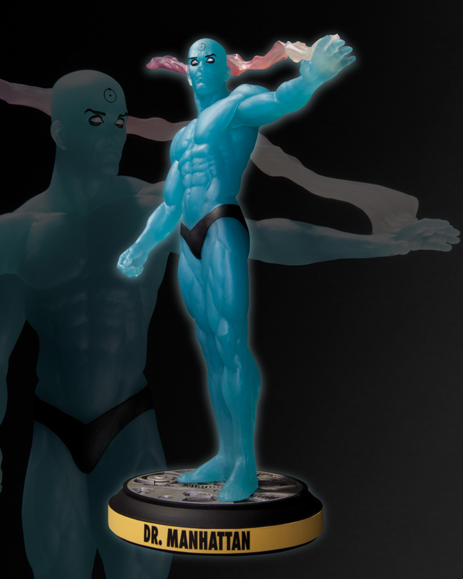 DR. MANHATTAN STATUE