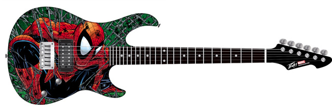 Peavey McFarlane Spider-Man Rockmaster Electric Guitar