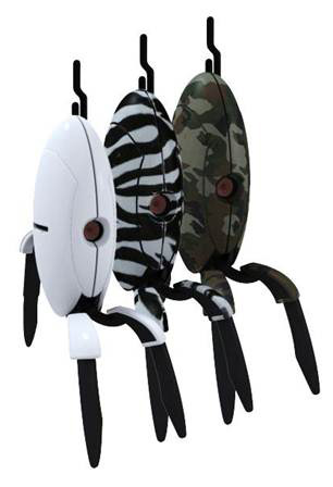 Portal 2 Sentry Turret Figures