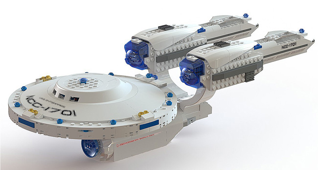 KRE-O STAR TREK U.S.S. ENTERPRISE set