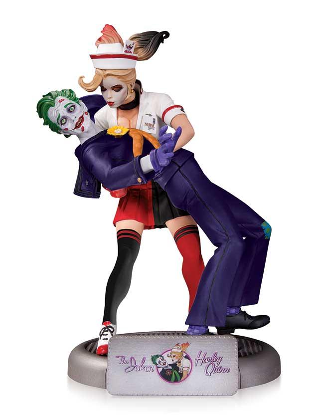 Joker Classic Black /& White Resin Statue by Jim Lee 2nd Edition Dc BATMAN
