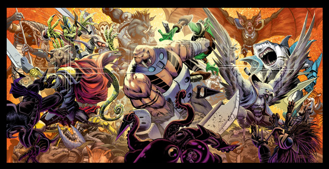 battle beasts comic books
