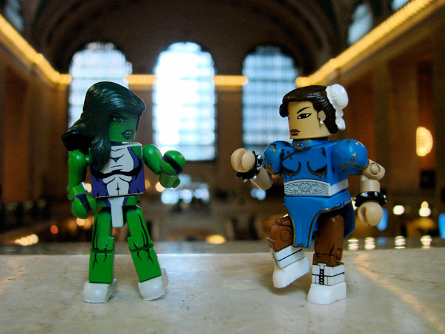 marvel vs capcom minimates