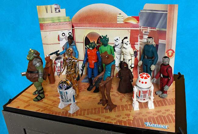 star wars cantina diorama