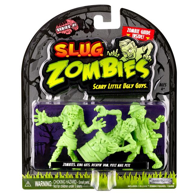 S.L.U.G. Zombies figures