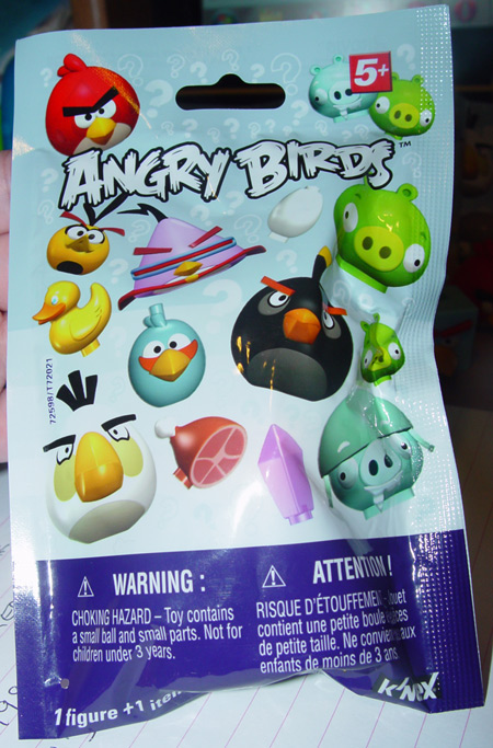 knex angry birds mystery figure