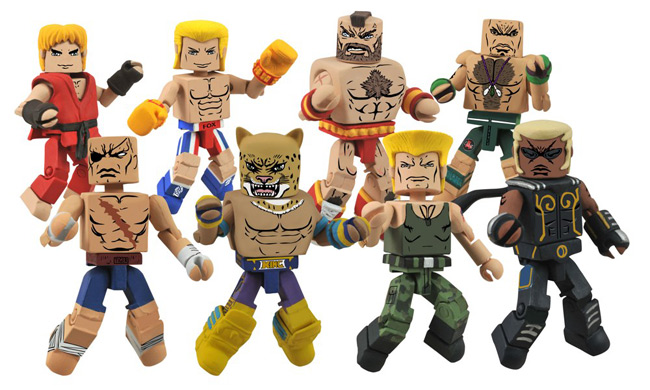Street Fighter X Tekken Minimates