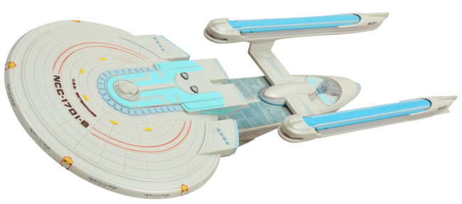 Electronic Star Trek Ships