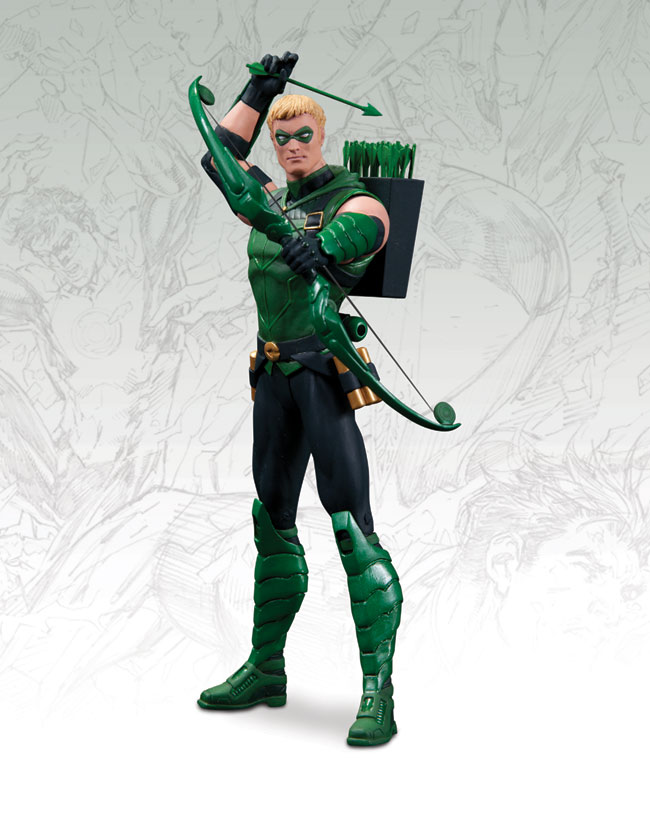 DC COMICS-THE NEW 52 GREEN ARROW ACTION FIGURE