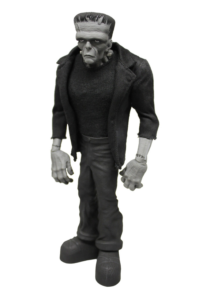 Mezco&#039;s Black &amp; White Variant Frankenstein for NYCC