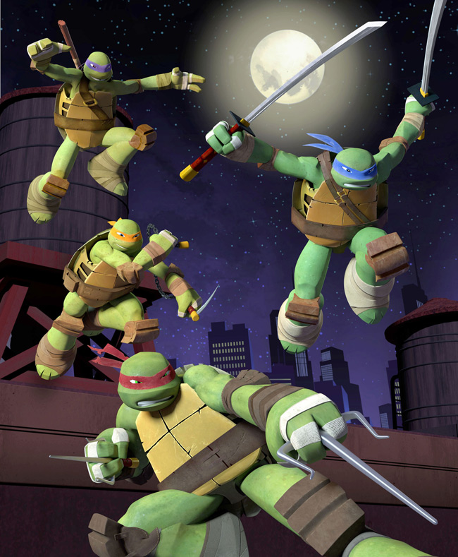 Teenage Mutant Ninja Turtles on Nickelodeon
