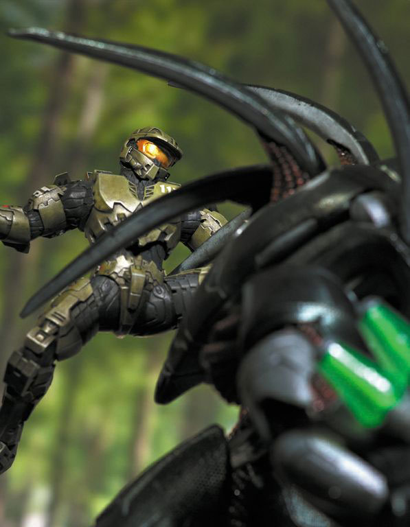 Halo 4 Forward Unto Dawn Statue Pictures Raving Toy Maniac