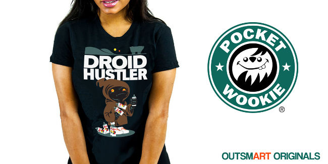 The Hustler T-Shirt by Pocket Wookie
