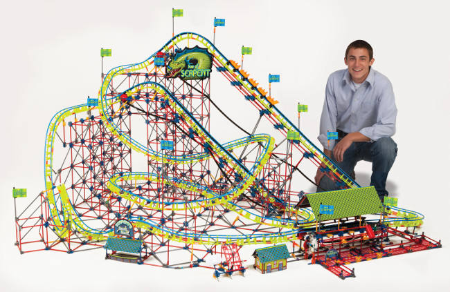 Win A K Nex Son Of Serpent Coaster Raving Toy Maniac