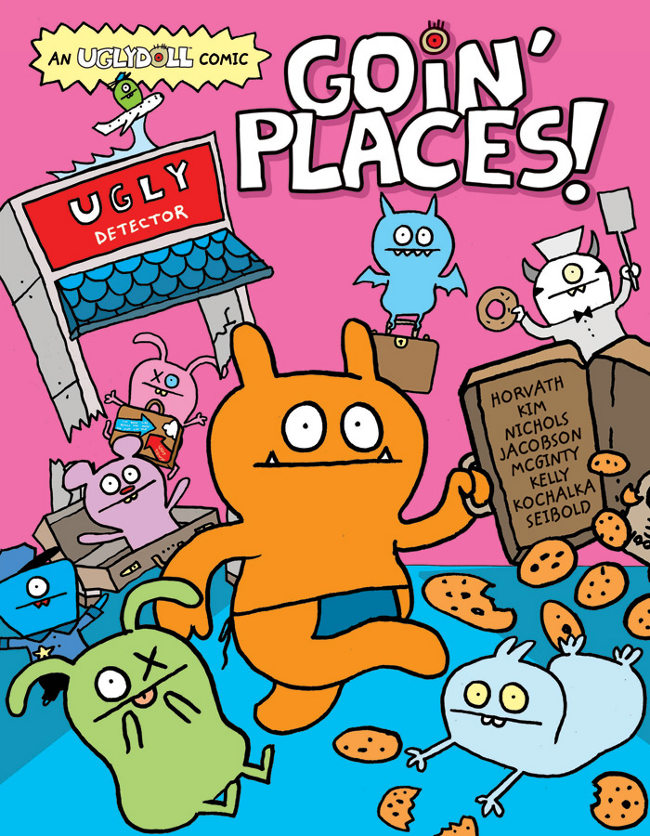 VIZ Launches UglyDoll Graphic Novels
