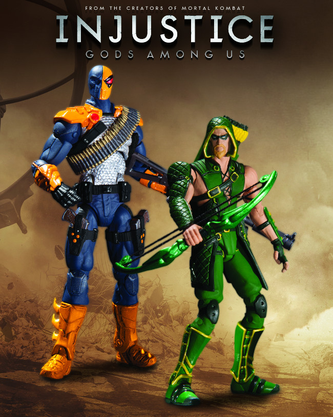 DEATHSTROKE VS. GREEN ARROW ACTION FIGURE 2-PACK