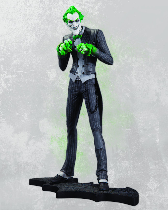 ARKHAM CITY THE JOKER STATUE