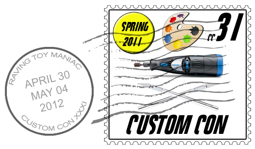 customcon 31 logo