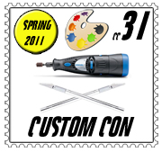 customcon 31 logo