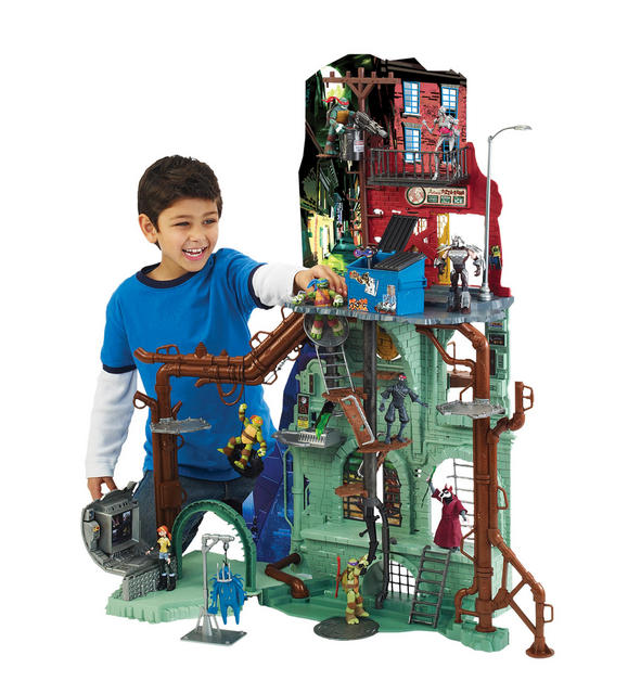95011 Sewer Lair with figures
