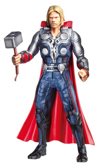 Avengers Mighty Battlers Hammer Slinging Thor