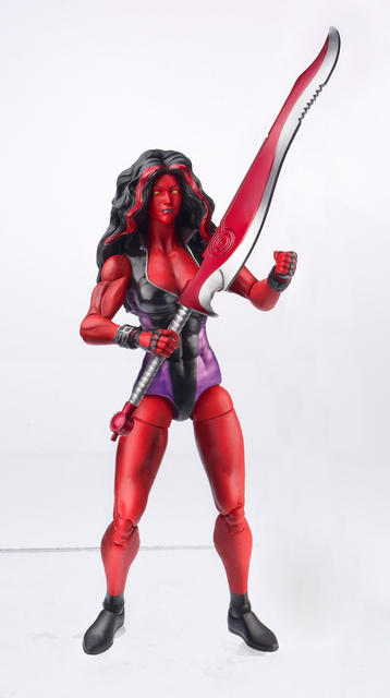 MARVEL Legends 2013 Wave 1 Red She-Hulk