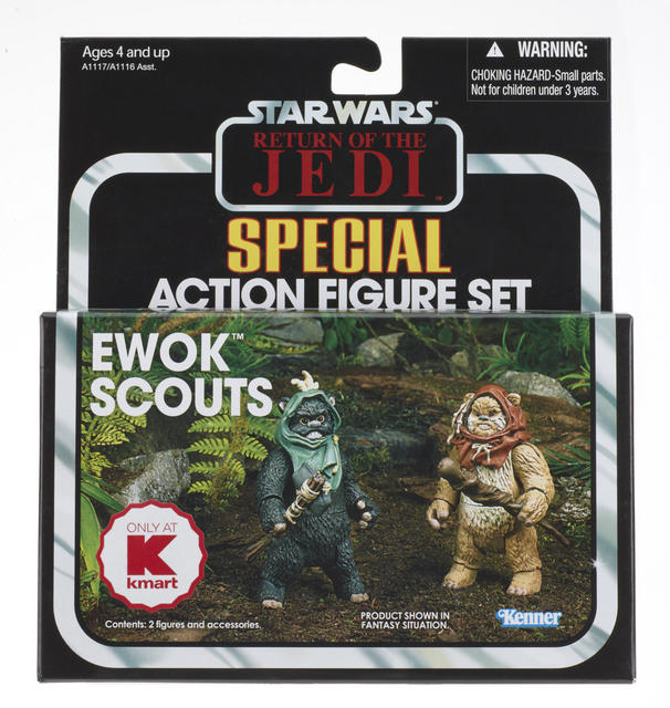 A0023 Ewok Scouts KMART Exclusive Ewoks