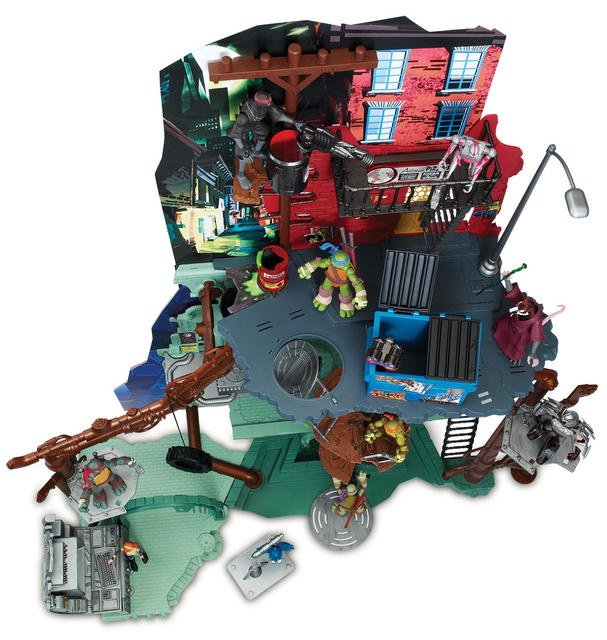 Sewer Lair 95011 Playset Levels