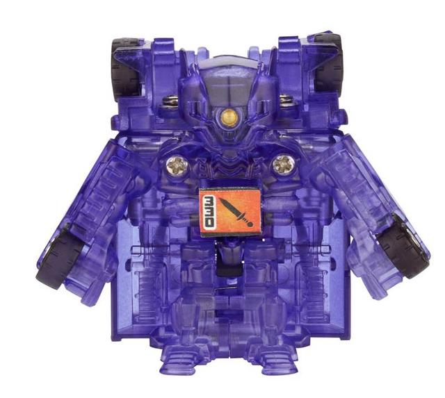 TRANSFORMERS BotShots Singles 2012 Shockwave chase