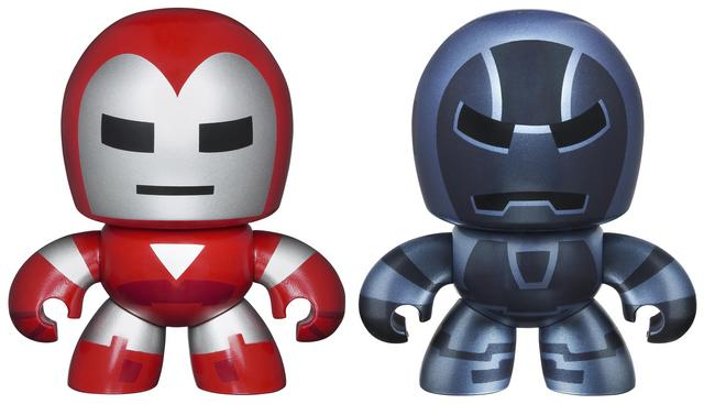 Two-Pack Avengers Mini Muggs  Iron Man and Iron Monger